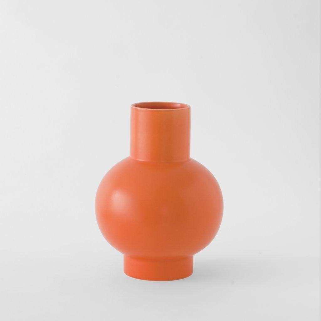 Raawii Large Vase Strøm Vibrant Orange
