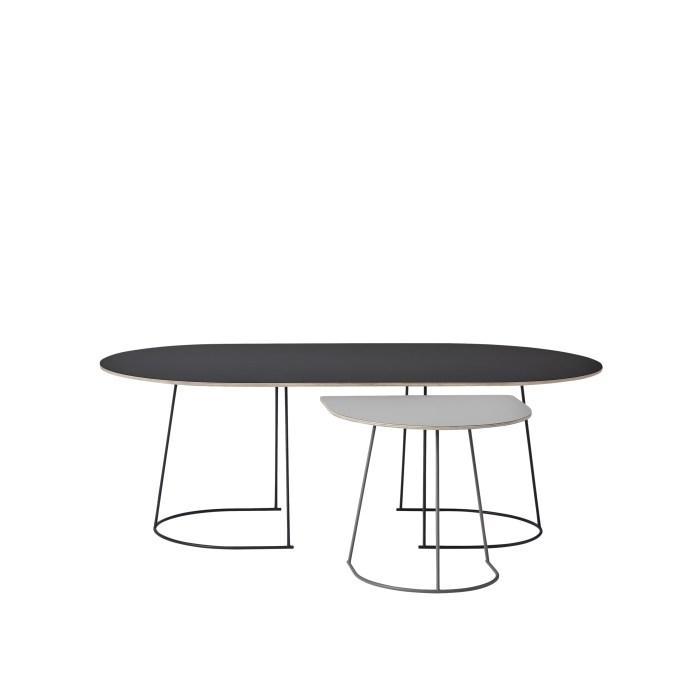 Muuto Airy Coffee Table Half Size Grey