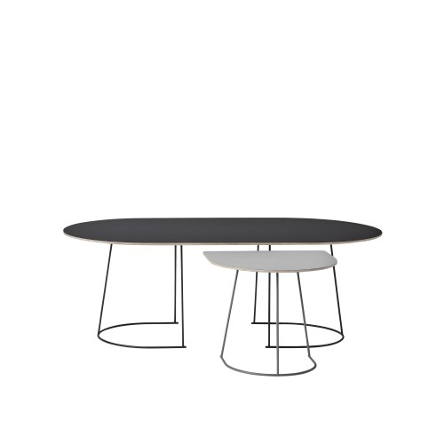 Muuto Airy Coffee Table Large Black