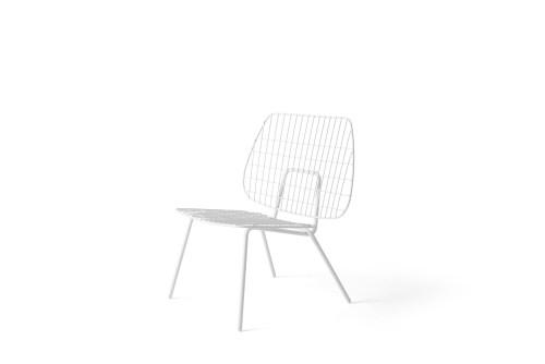 Menu WM String Lounge Chair White