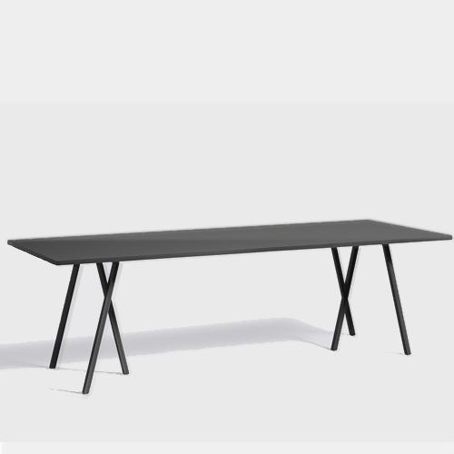 HAY Loop Stand Table black 250 cm