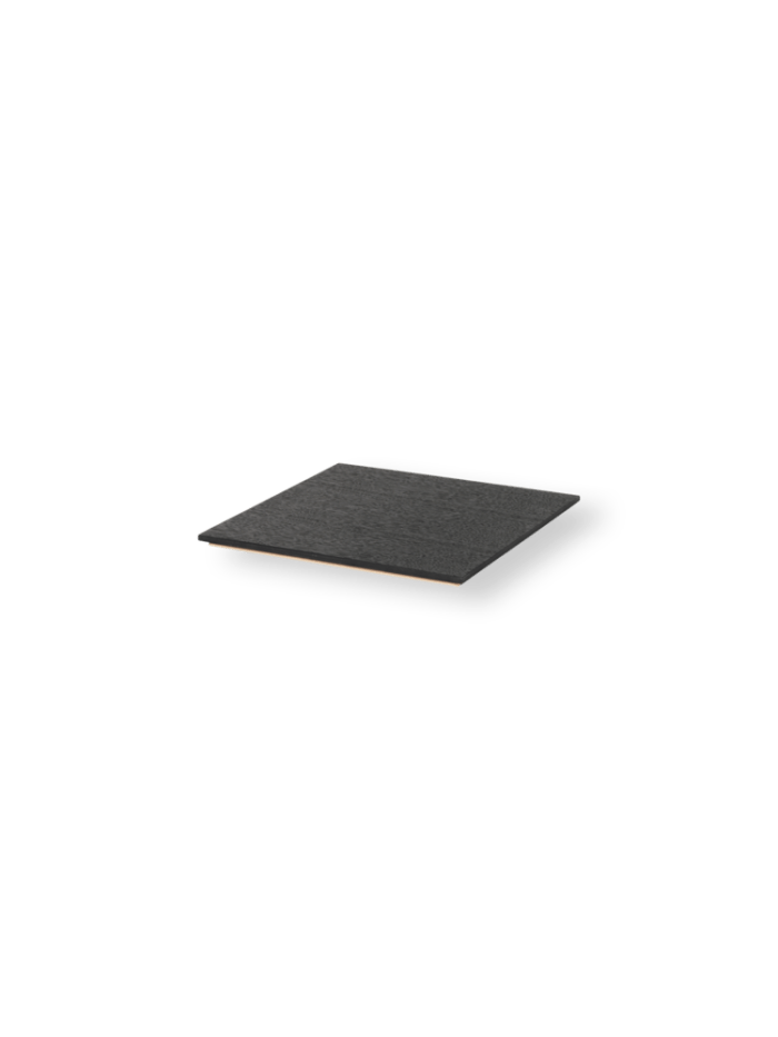 Tray for plant box black stained