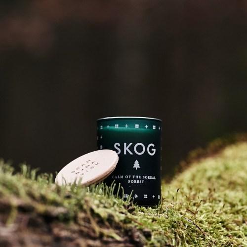 Skandinavisk geurkaars klein Skog