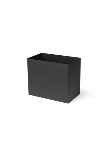 Ferm Living Plant Box Pot Large Black