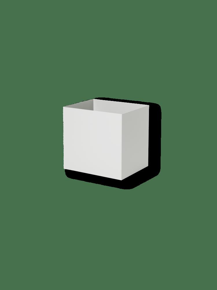Pot for plant box light grey
