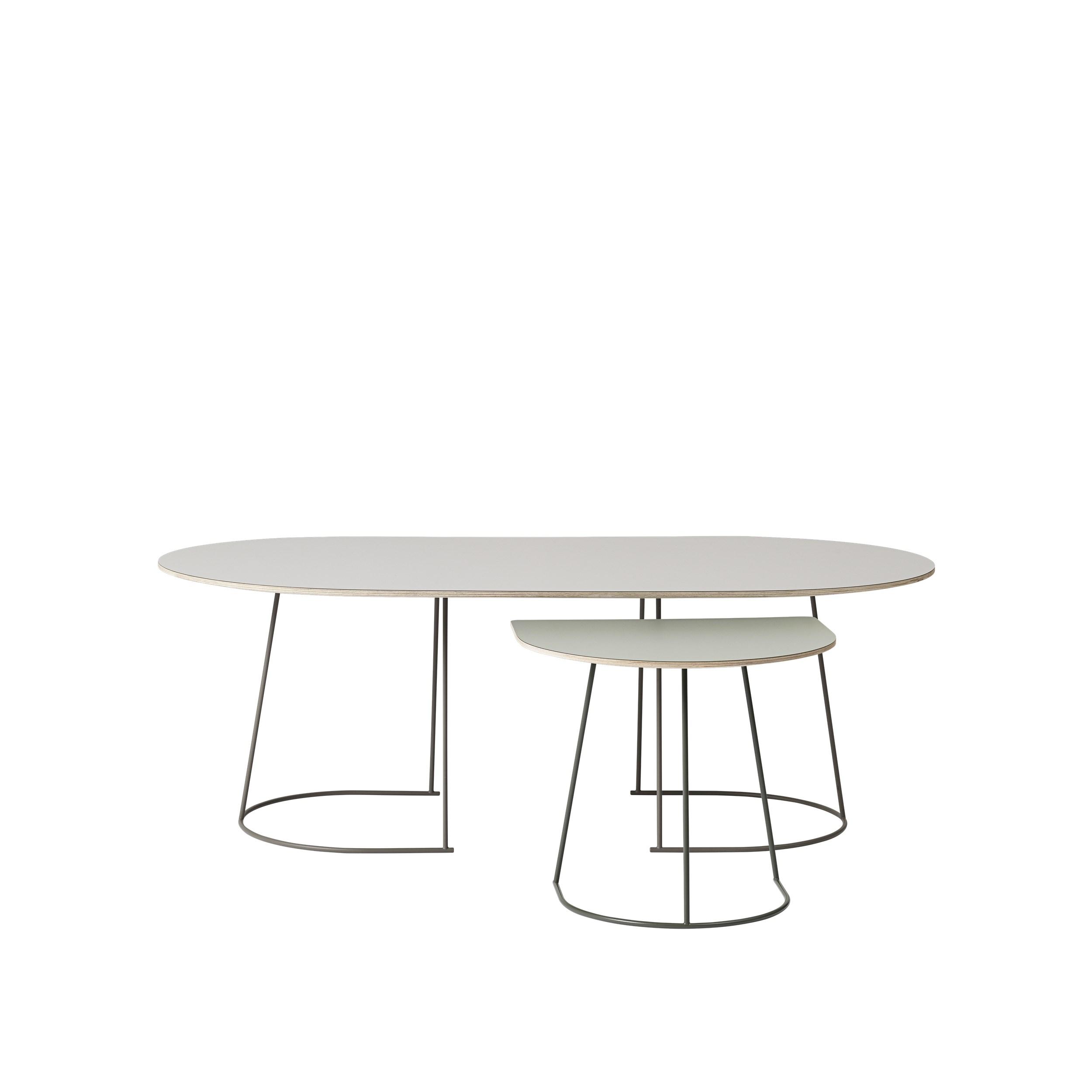 Muuto Airy Coffee Table Medium Grey