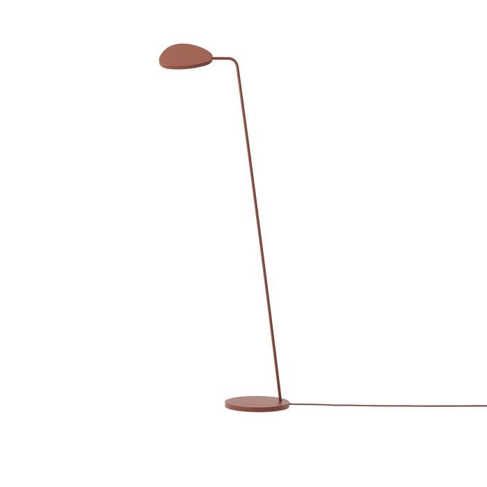 Muuto Leaf Floor Lamp Copper Brown