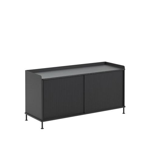 Muuto Enfold Sideboard Low Black/Black