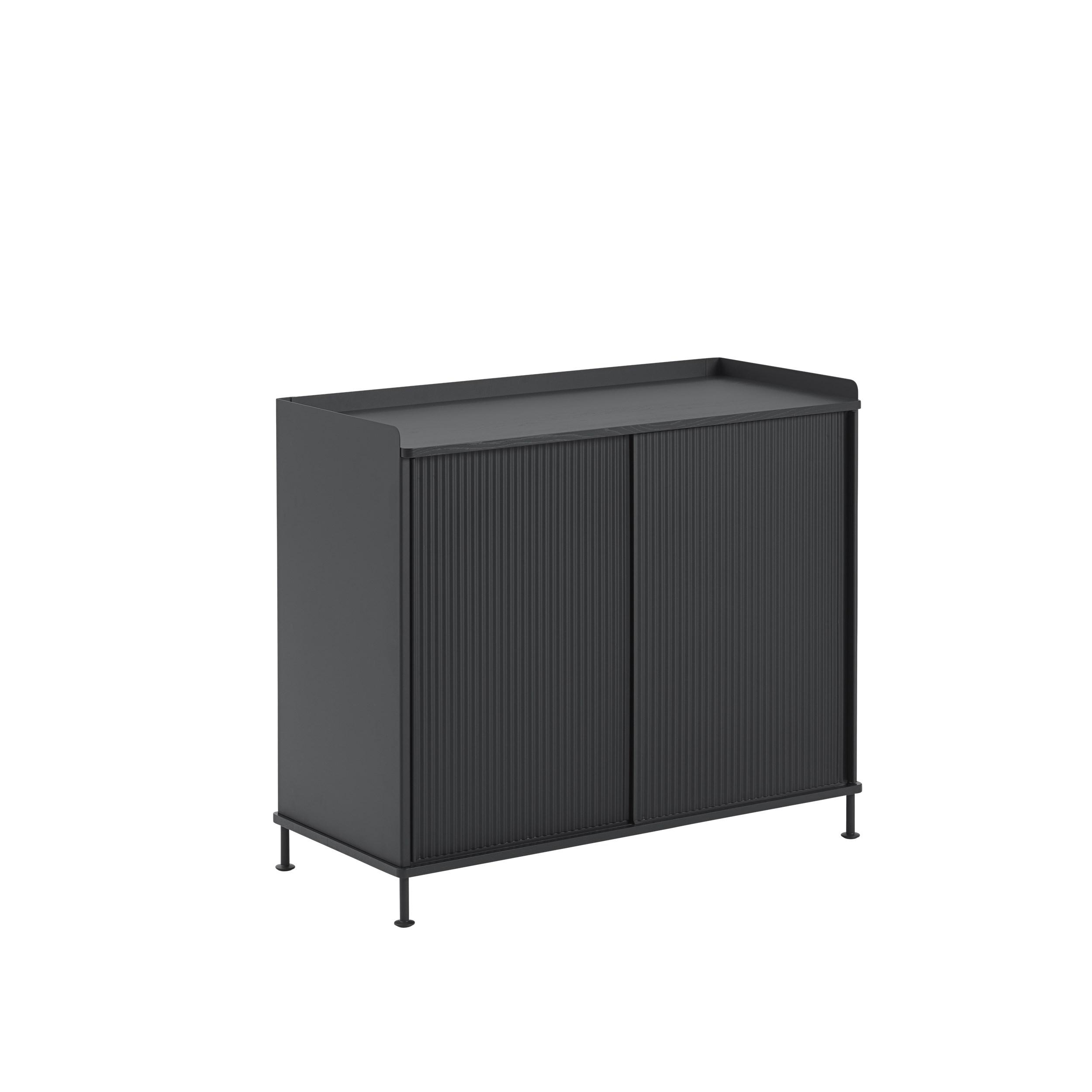 Muuto Enfold Sideboard Tall Black/Black