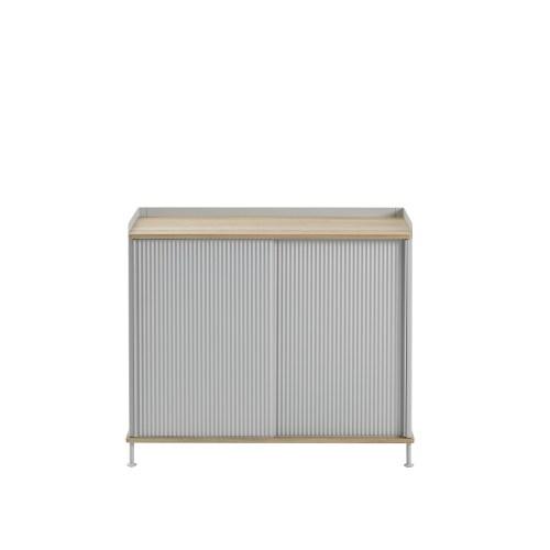 Muuto Enfold Sideboard Tall Oak/Grey