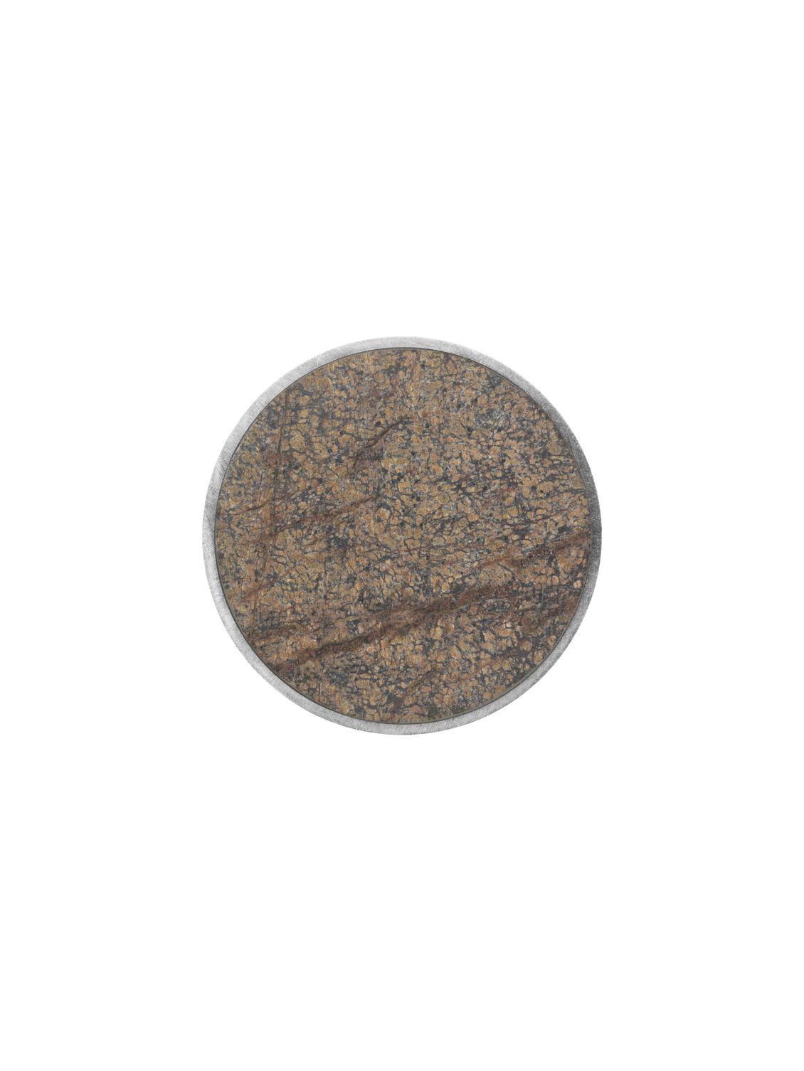 Ferm Living Hook Steel Stone Bidasar Brown large