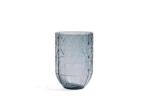 Colour vase L blue