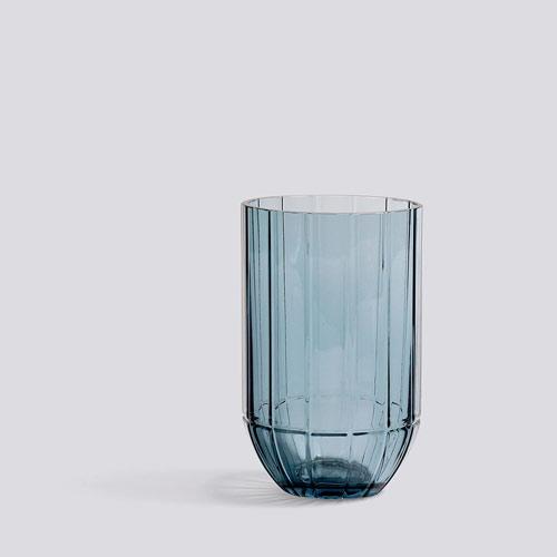 Colour vase M blue
