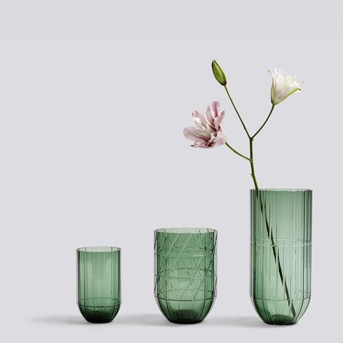 Colour vase XL green