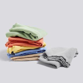 HAY mono blanket verdigris green