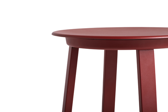 Hay Revolver Bar Stool High 76 Sky Red