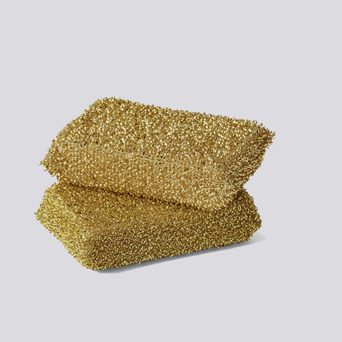 Lurex Sponge Gold 2 pcs