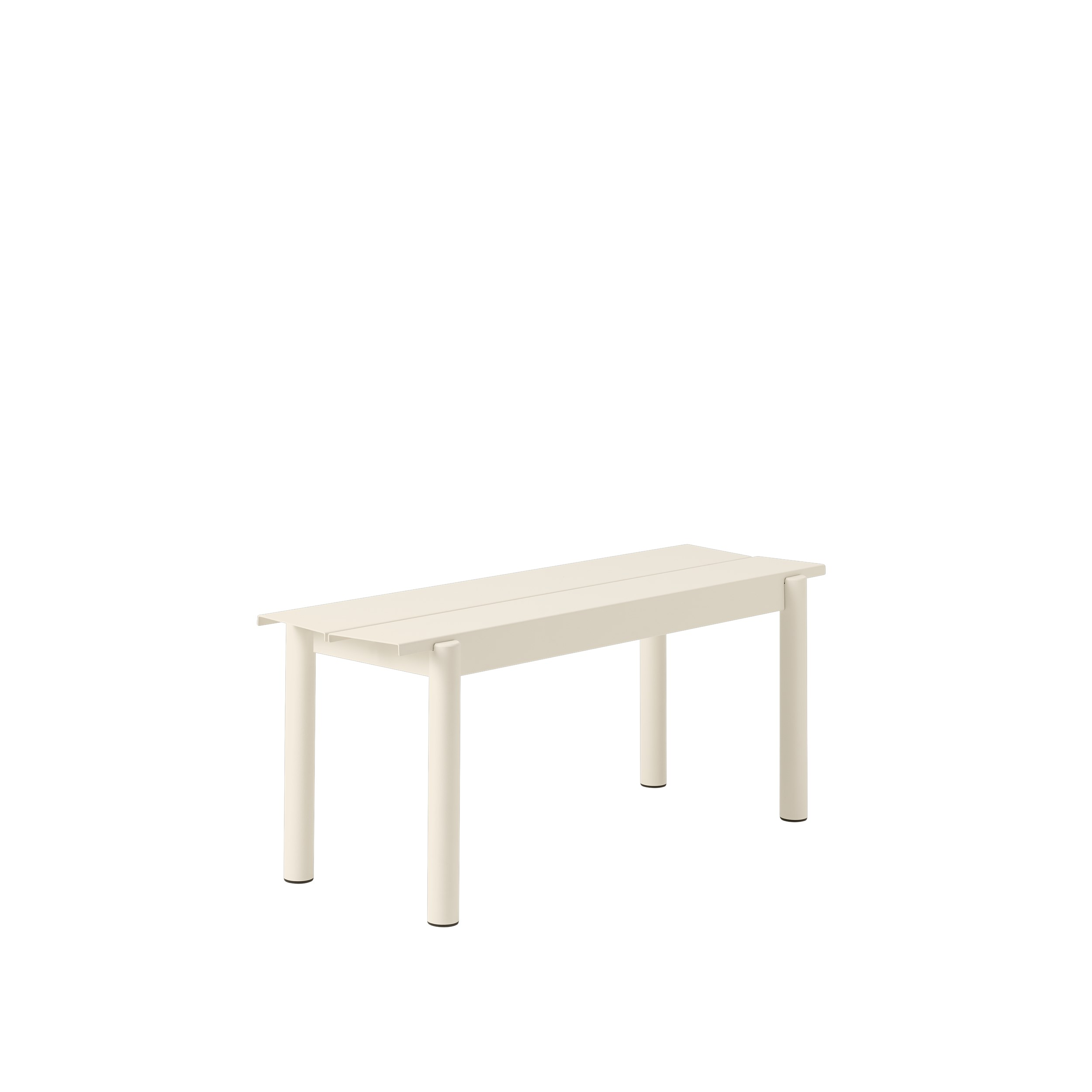 Muuto Linear Steel Bench 110 Off-white
