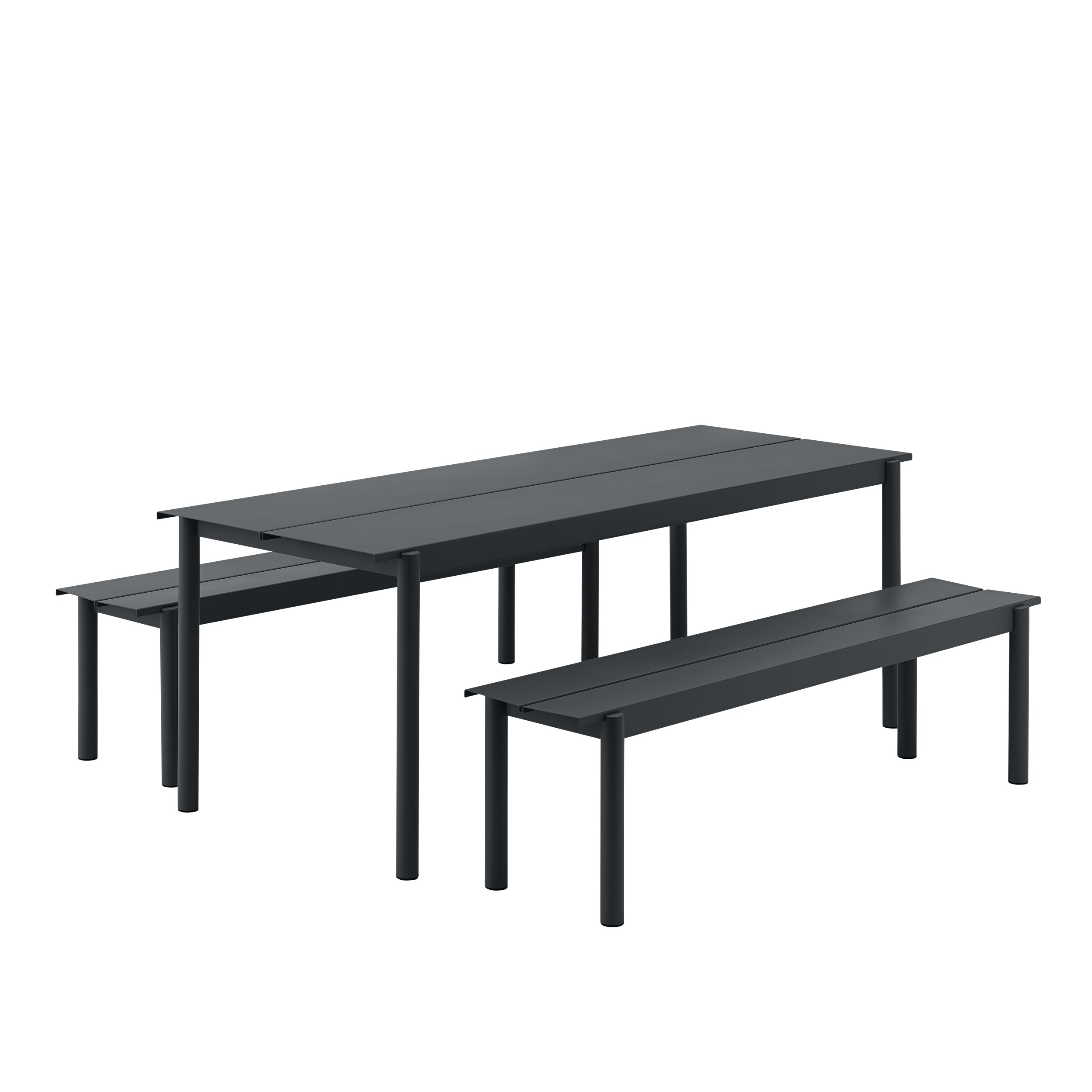 Muuto Linear Steel Table 140 Black