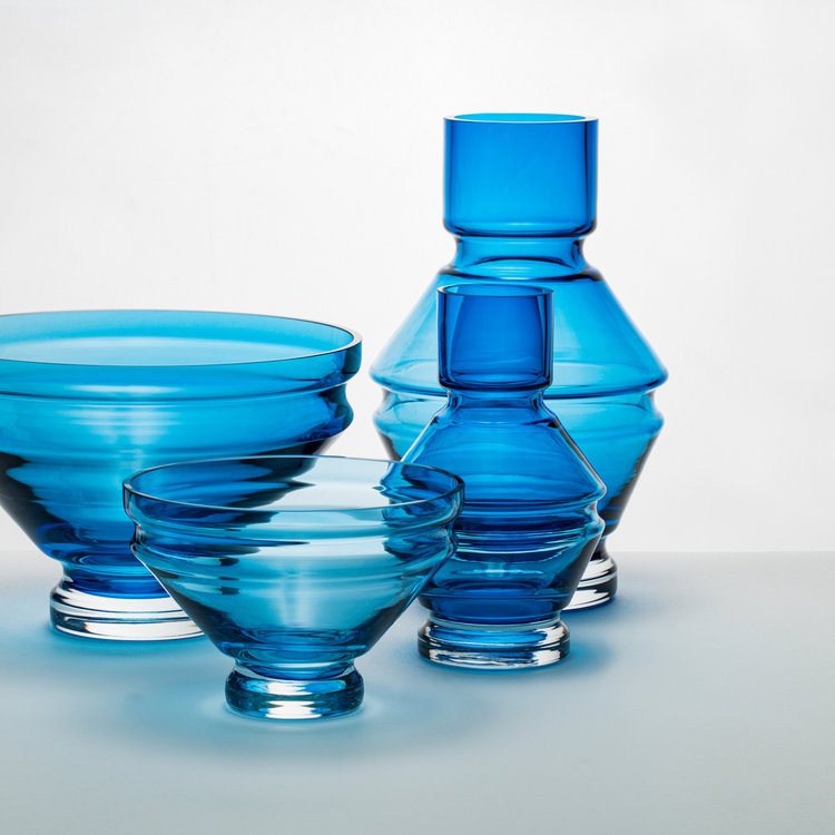 Raawii Relae Bowl Aquamarine Blue small