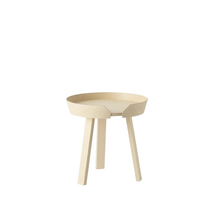 Around coffee table small ash