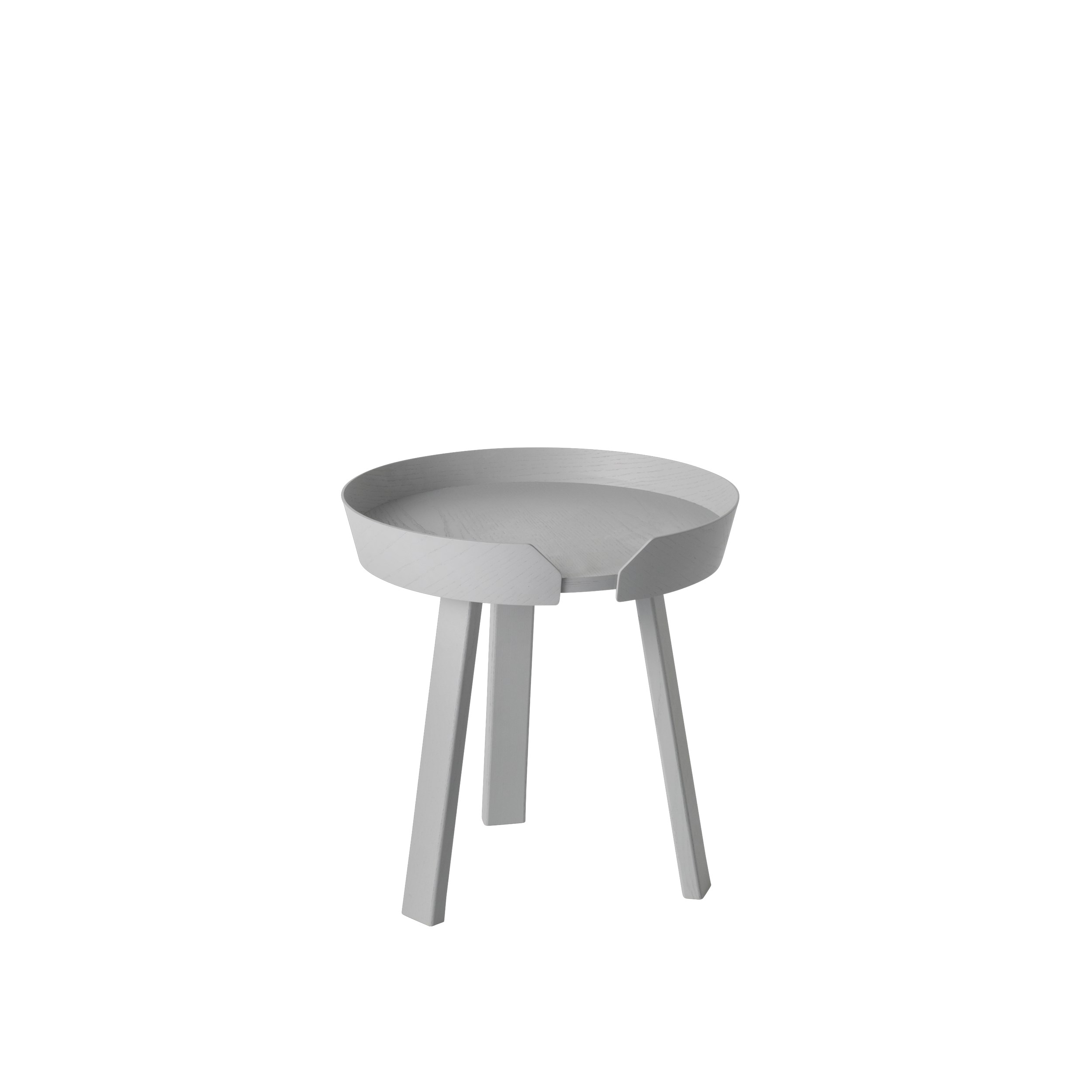 Around coffee table small grey