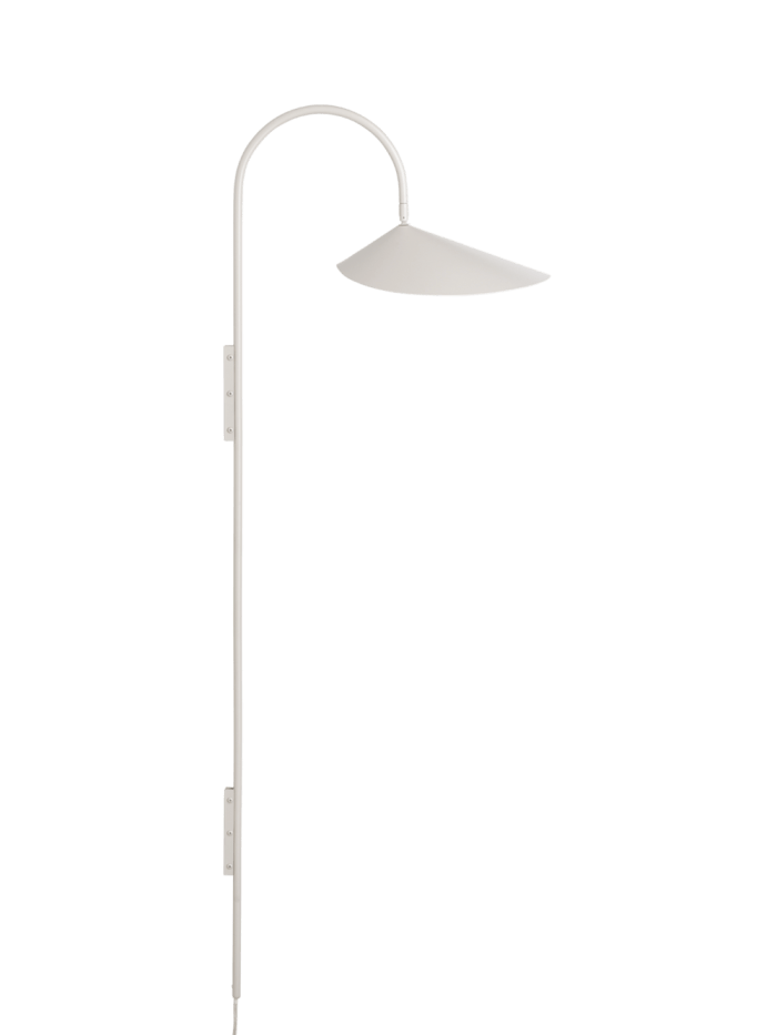 Ferm Living Arum Wall Lamp Tall Cashmere