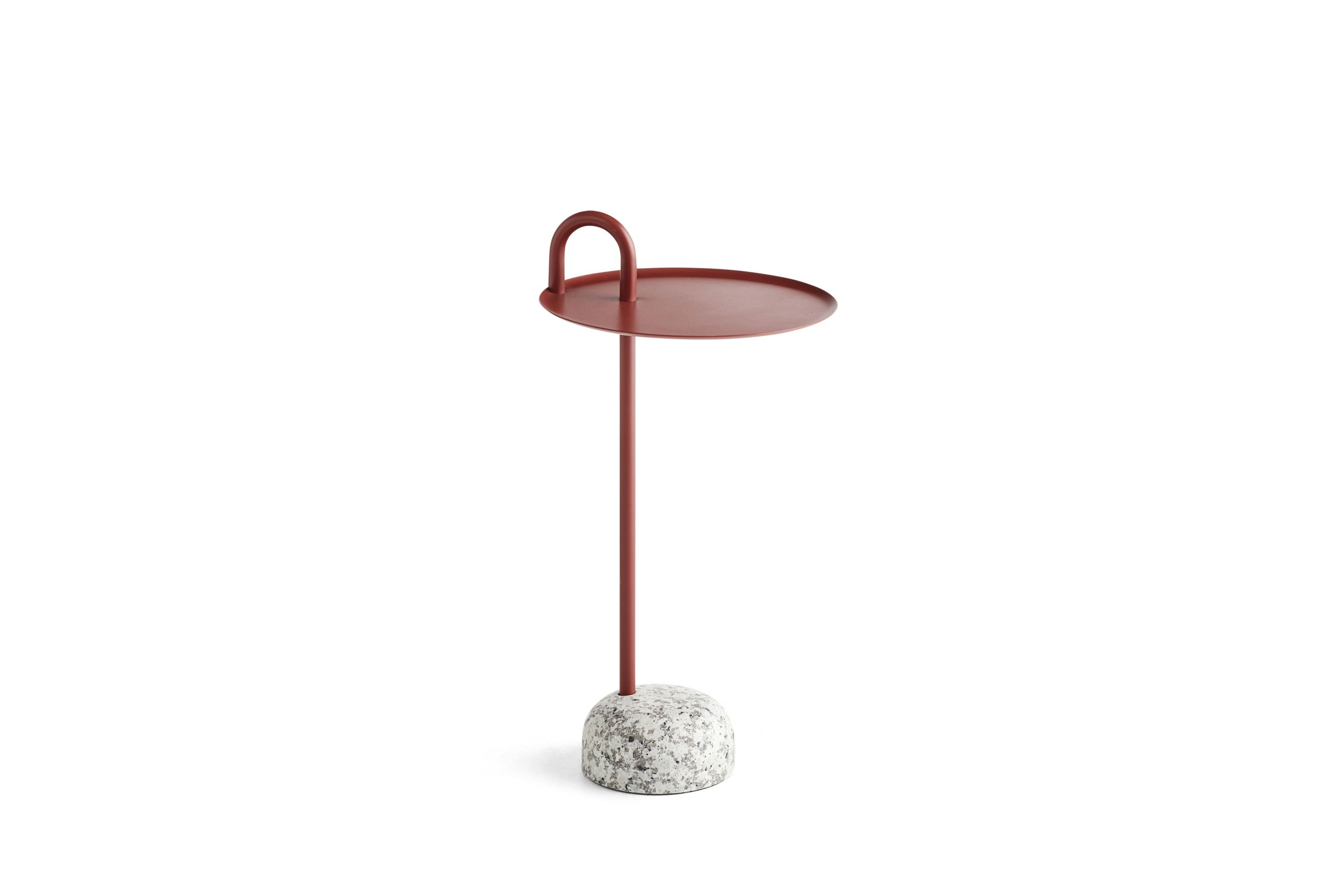 Hay Bowler Table Tile Red