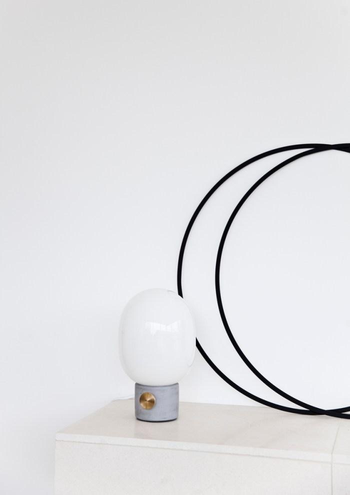 Menu JWDA Table Lamp Concrete