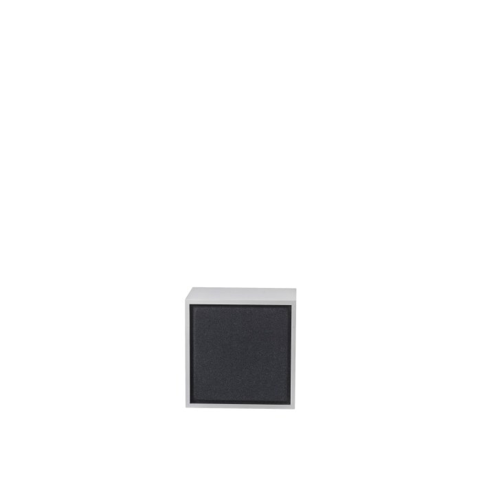 Stacked 2.0 acoustic panel medium black