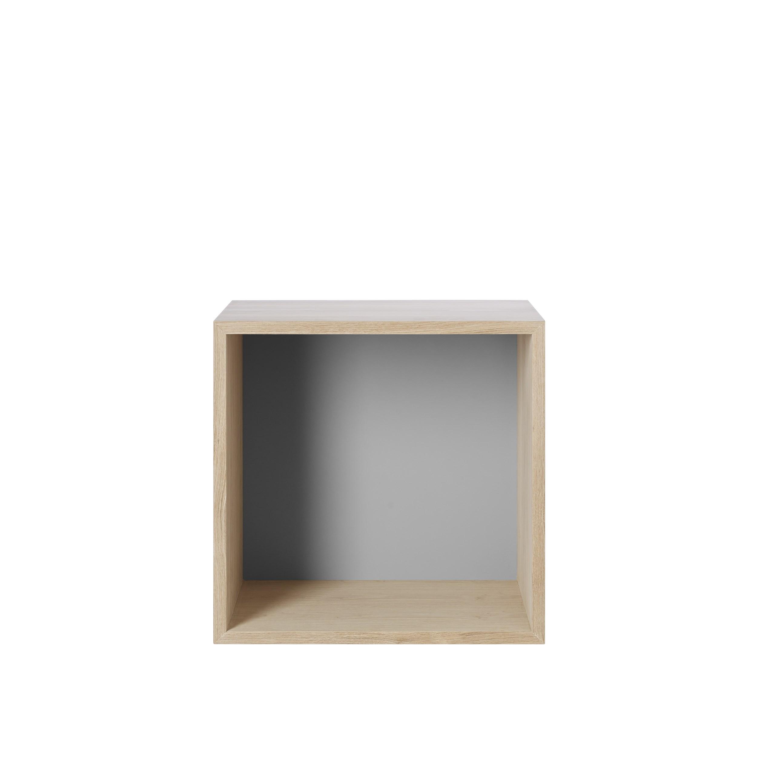 Stacked 2.0 medium backboard oak/ light grey