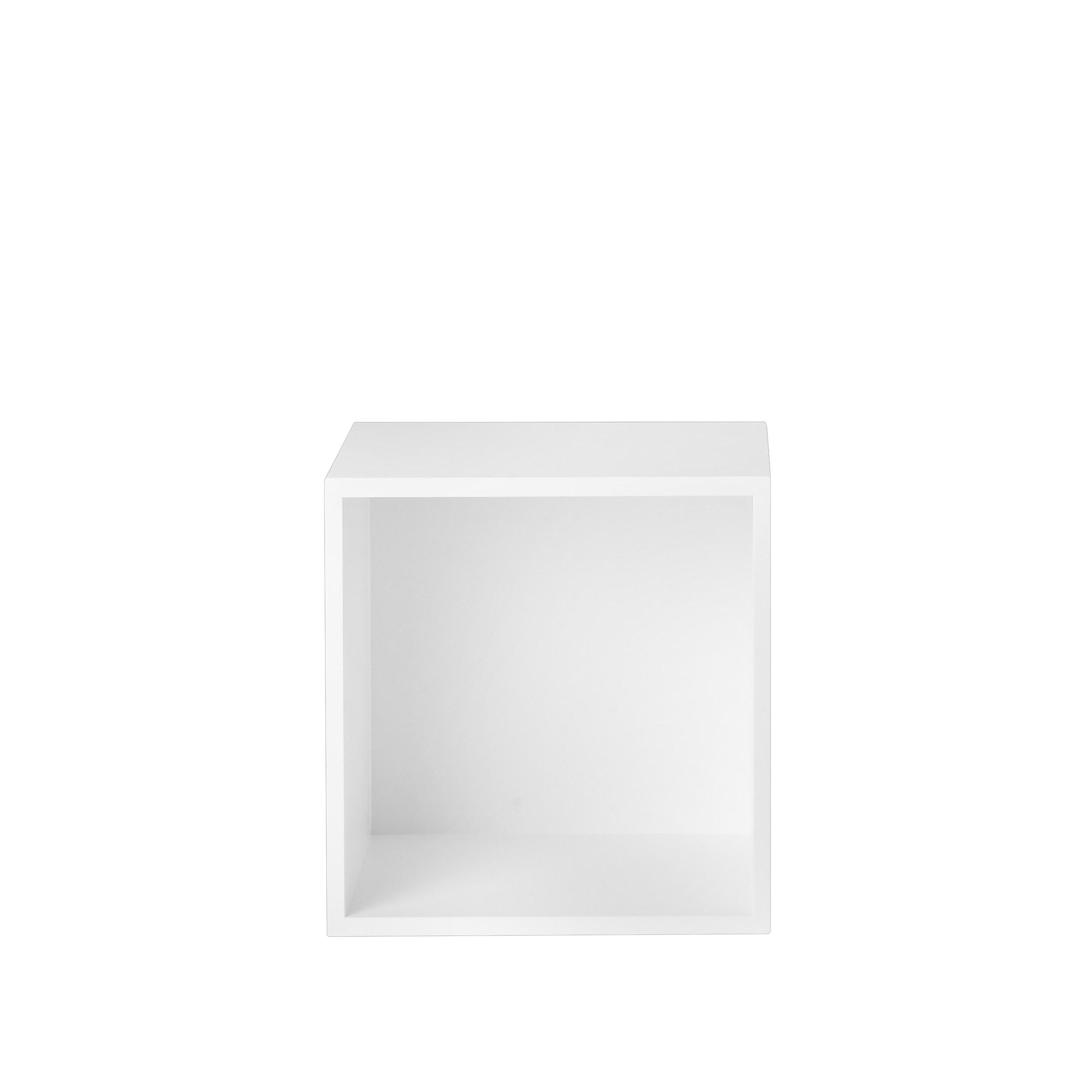 Stacked 2.0 medium backboard white