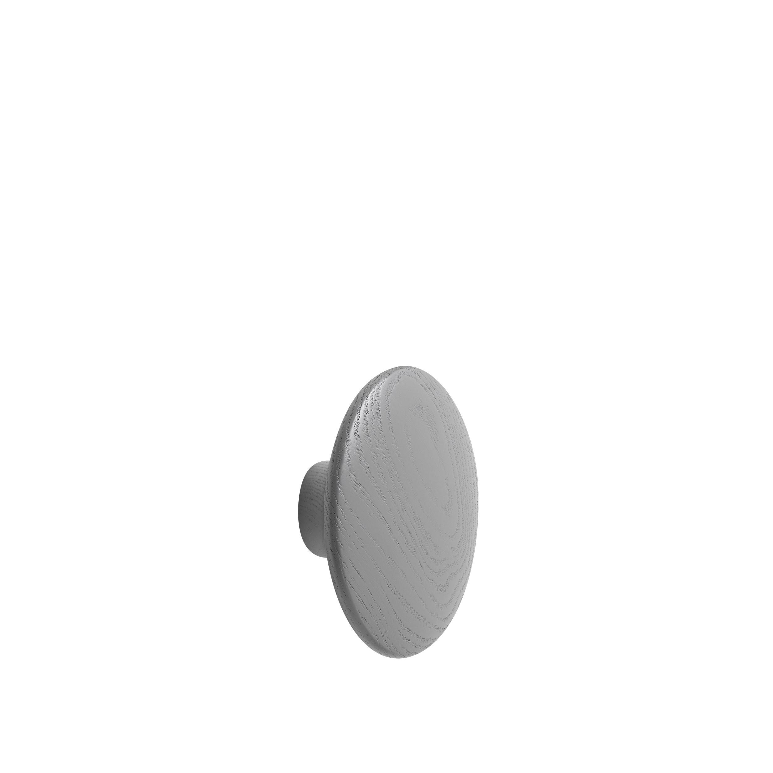 Dot wood medium Ø 13 cm dark grey