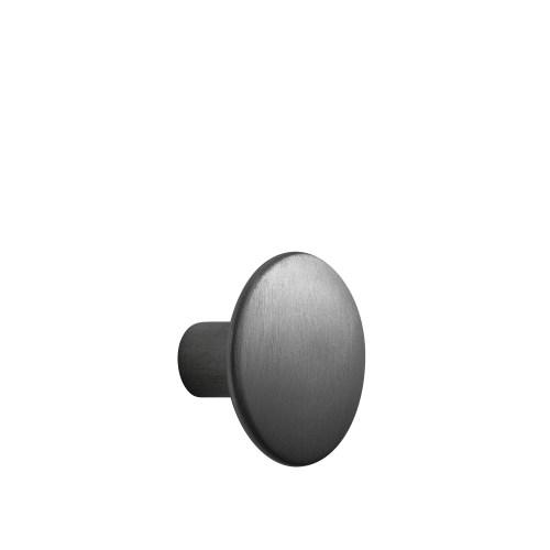 Dots metal large Ø 5 cm black