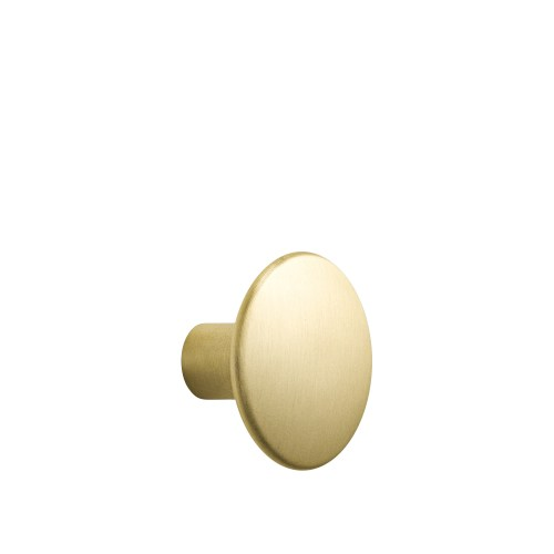 Dots metal medium Ø 3,9 cm brass