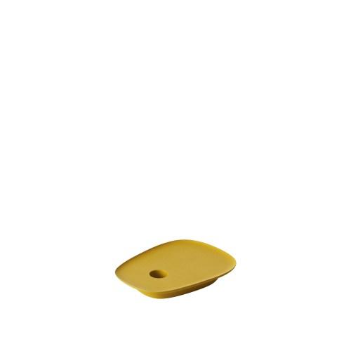 Float candleholder yellow