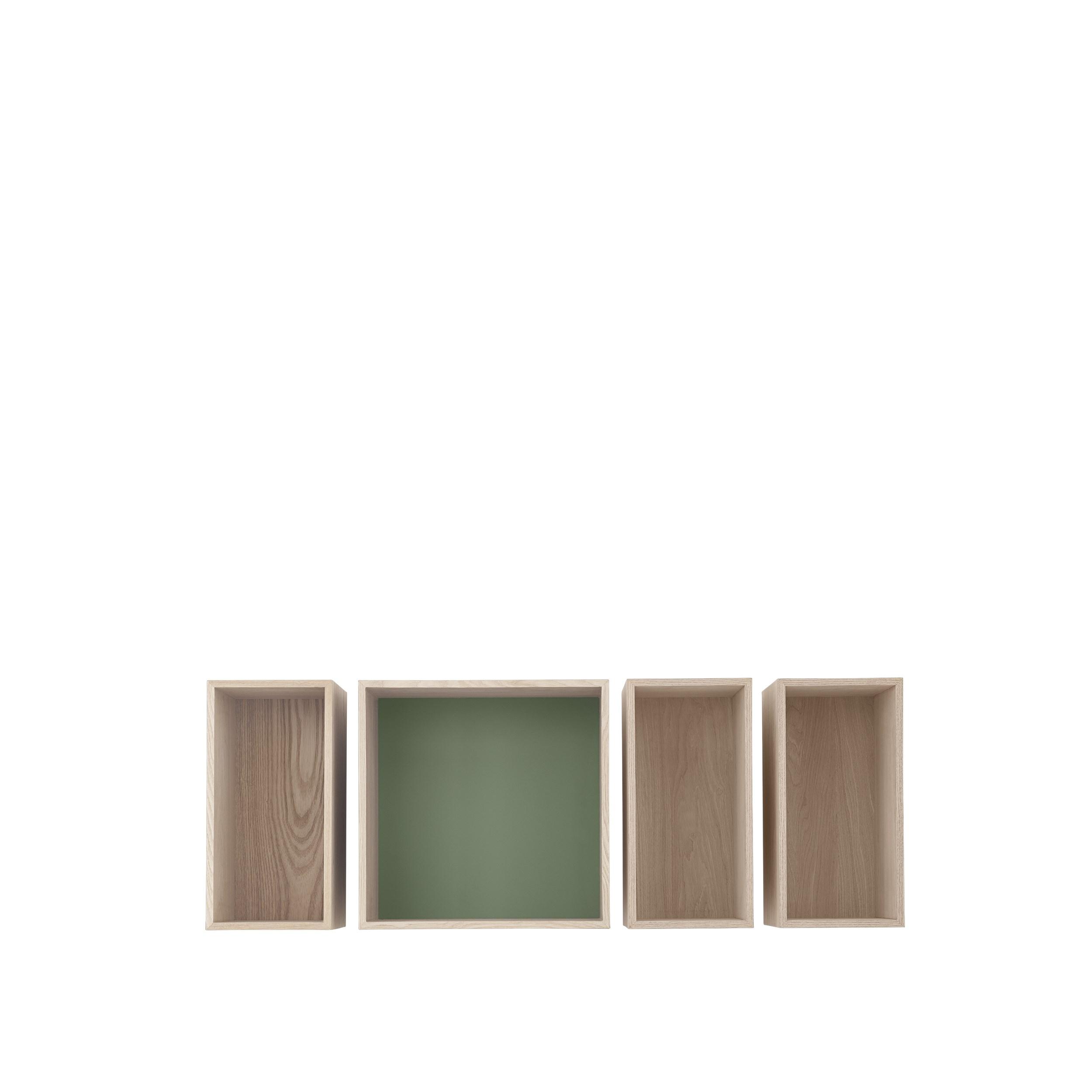 Mini stacked 2.0 medium dusty green backboard