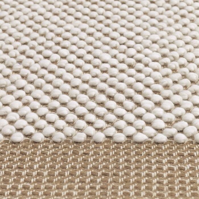 Pebble rug 240 x 170 burnt orange