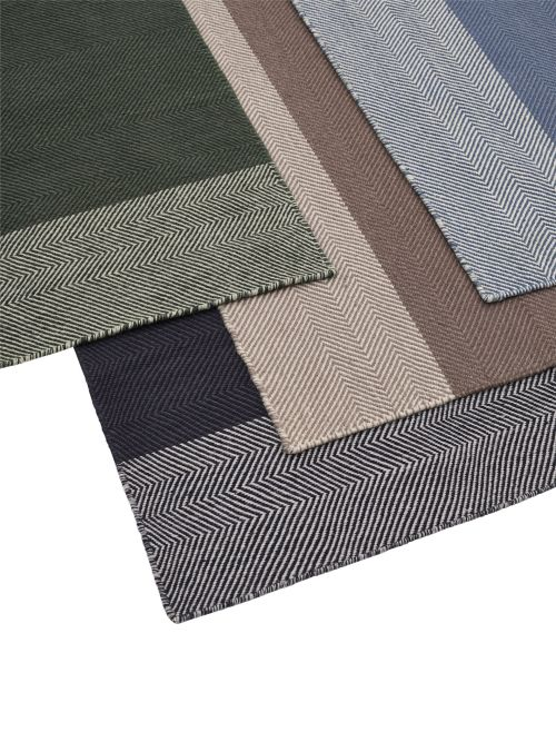 Varjo rug 200 x 300 dark green