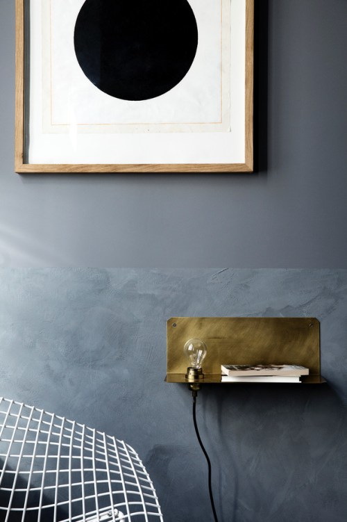 Frama 90 Wall Light Brass