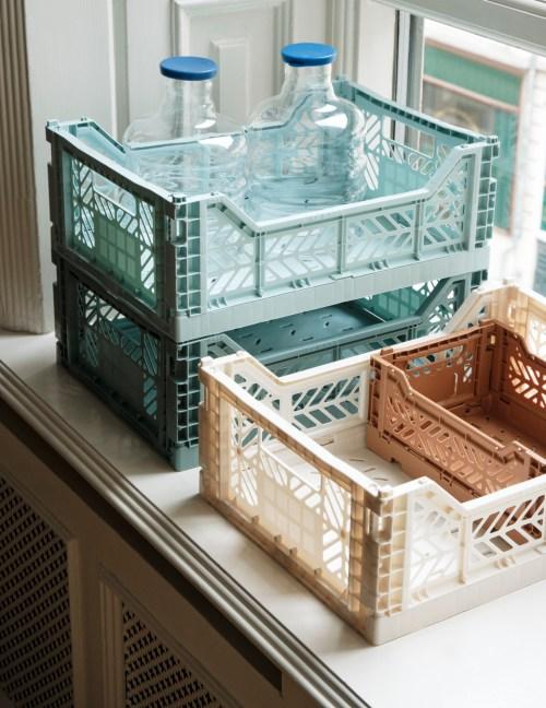Hay Colour Crate M Arctic Blue