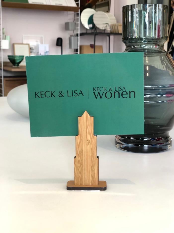 KECK & LISA kaart en foto houder Domtoren