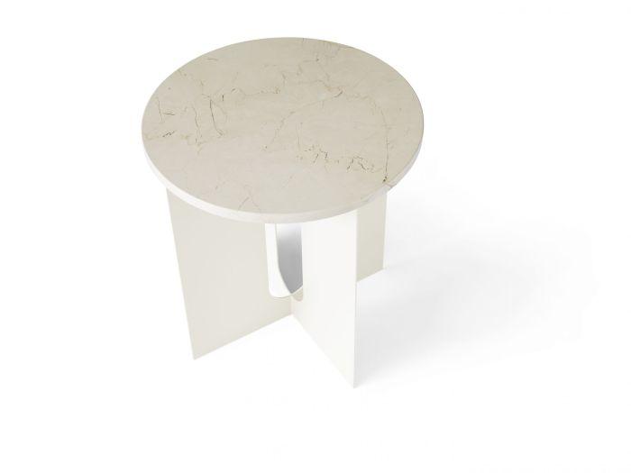 Menu Androgyne Side Table onderstel Ivory