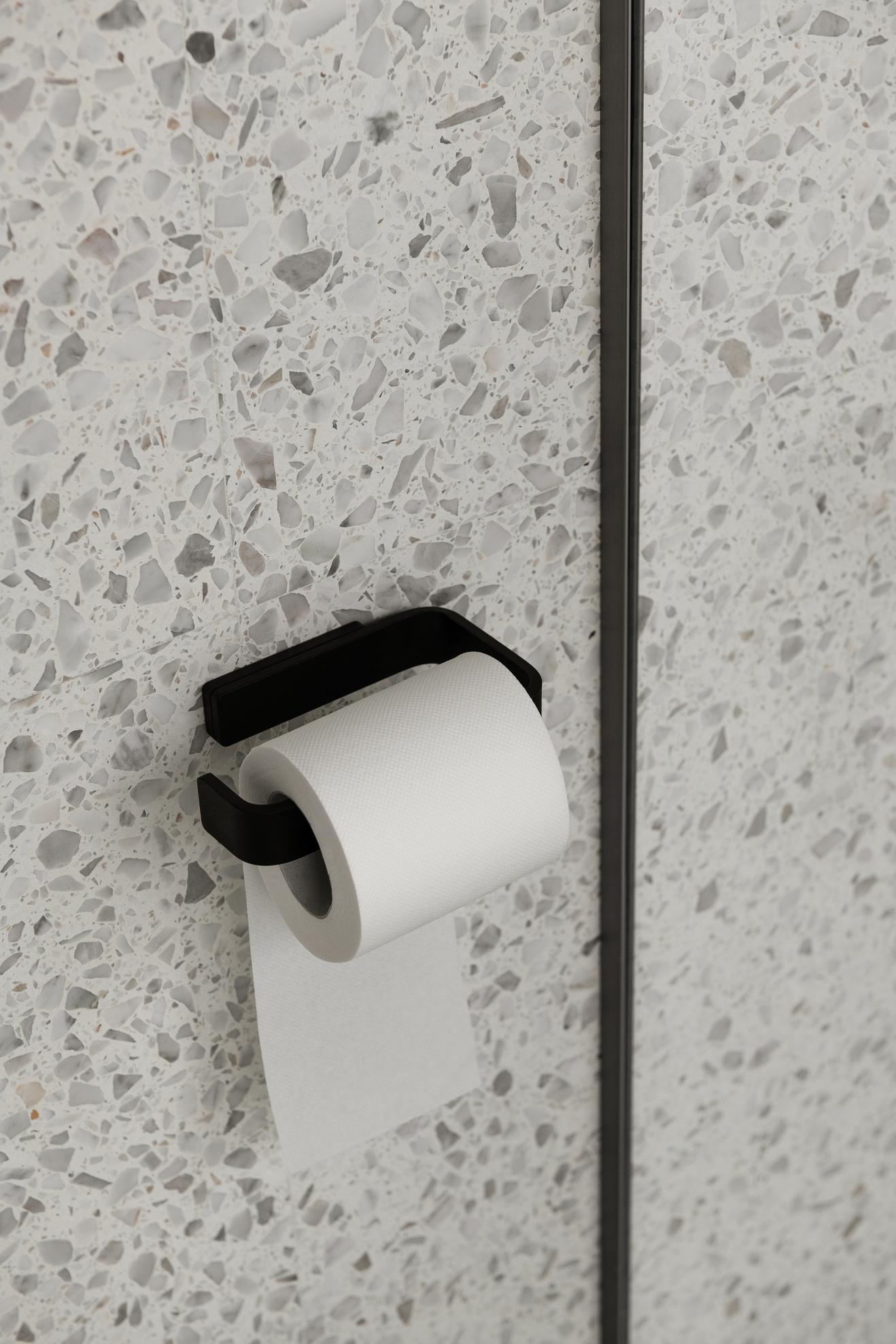 Menu Toilet Roll Holder Black