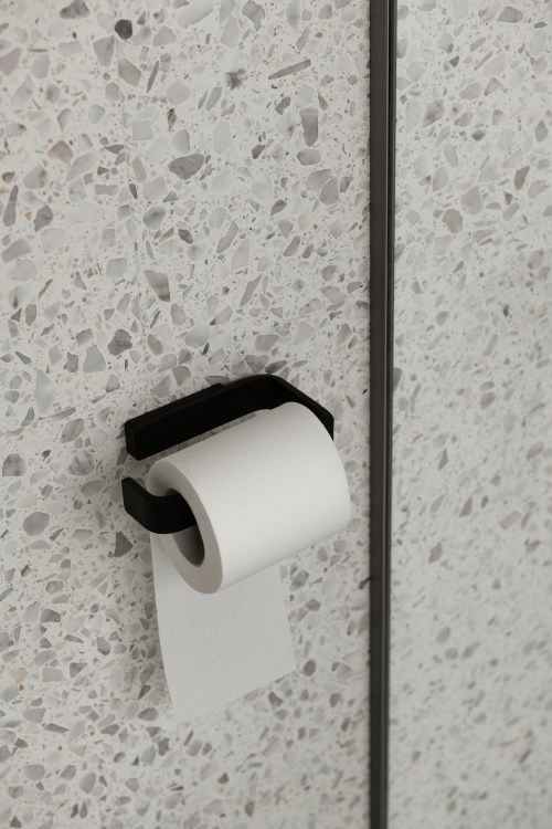 Menu Toilet Roll Holder Black