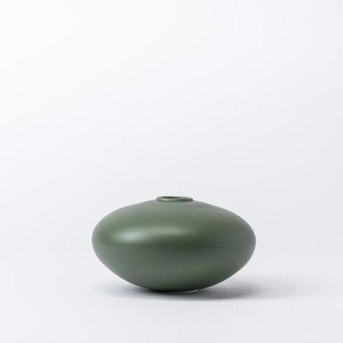 Raawii Alev Vase 01 Small Elm Green