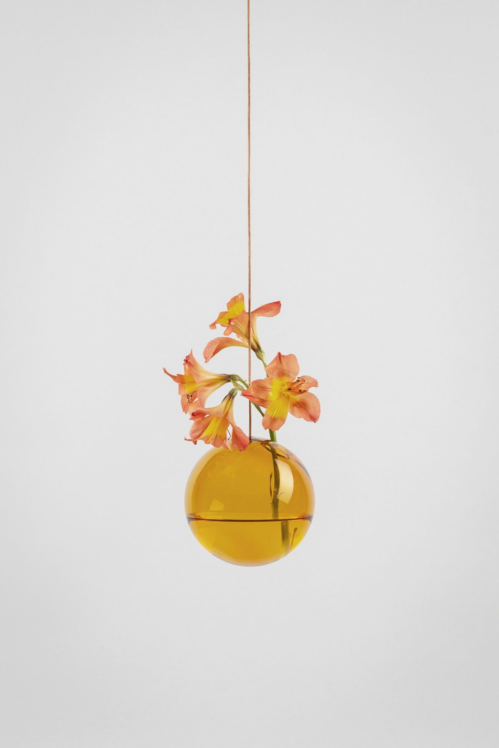 Studio About Bubble Hanging Vase M Amber