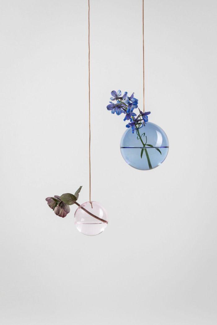 Studio About Bubble Hanging Vase M Blue