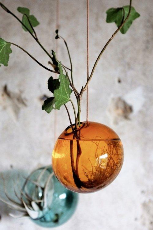 Studio About Bubble Hanging Vase M Smoke