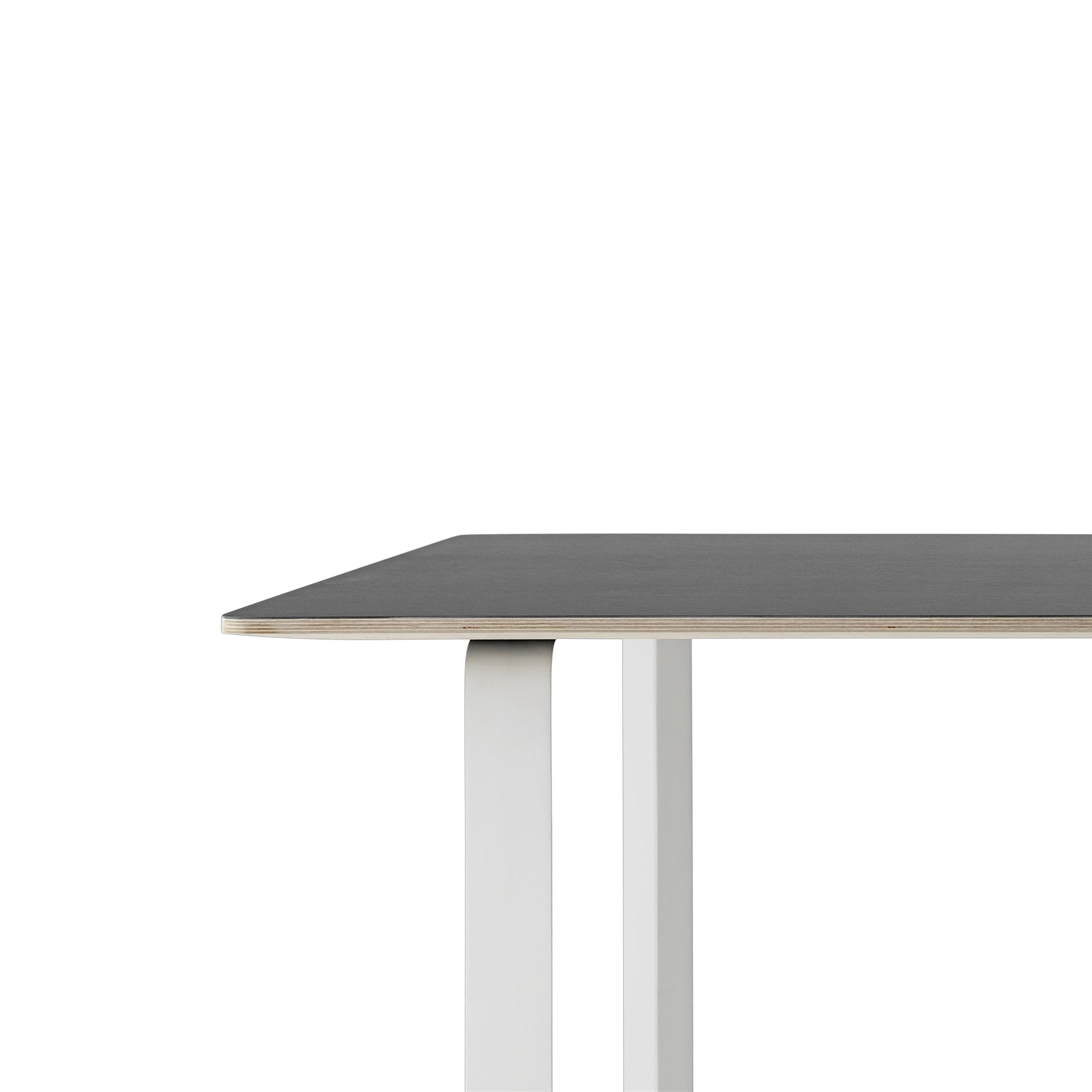 Muuto 70/70 Table 170x85 Black Linoleum